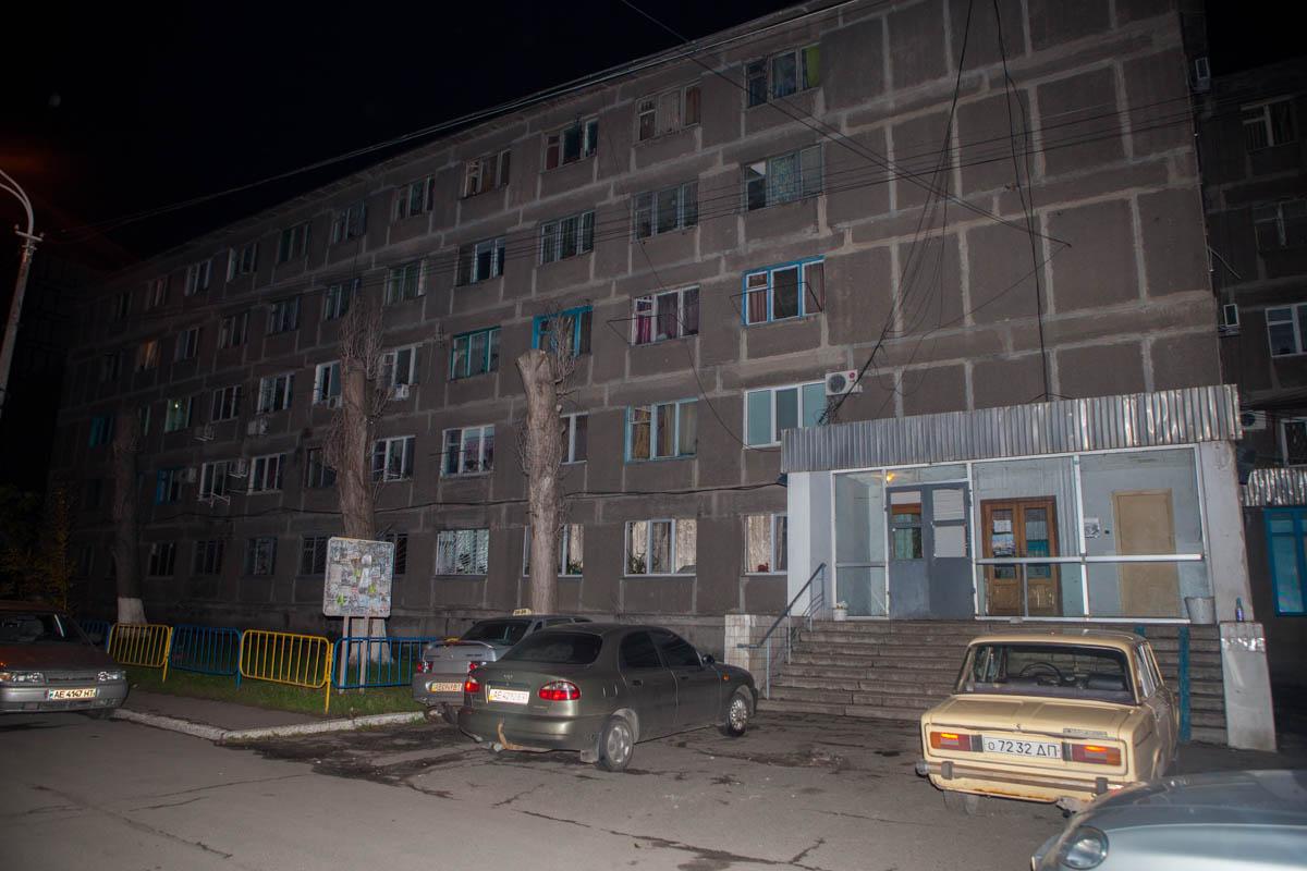 Нападение произошло в общежитии на улице Войцеховича