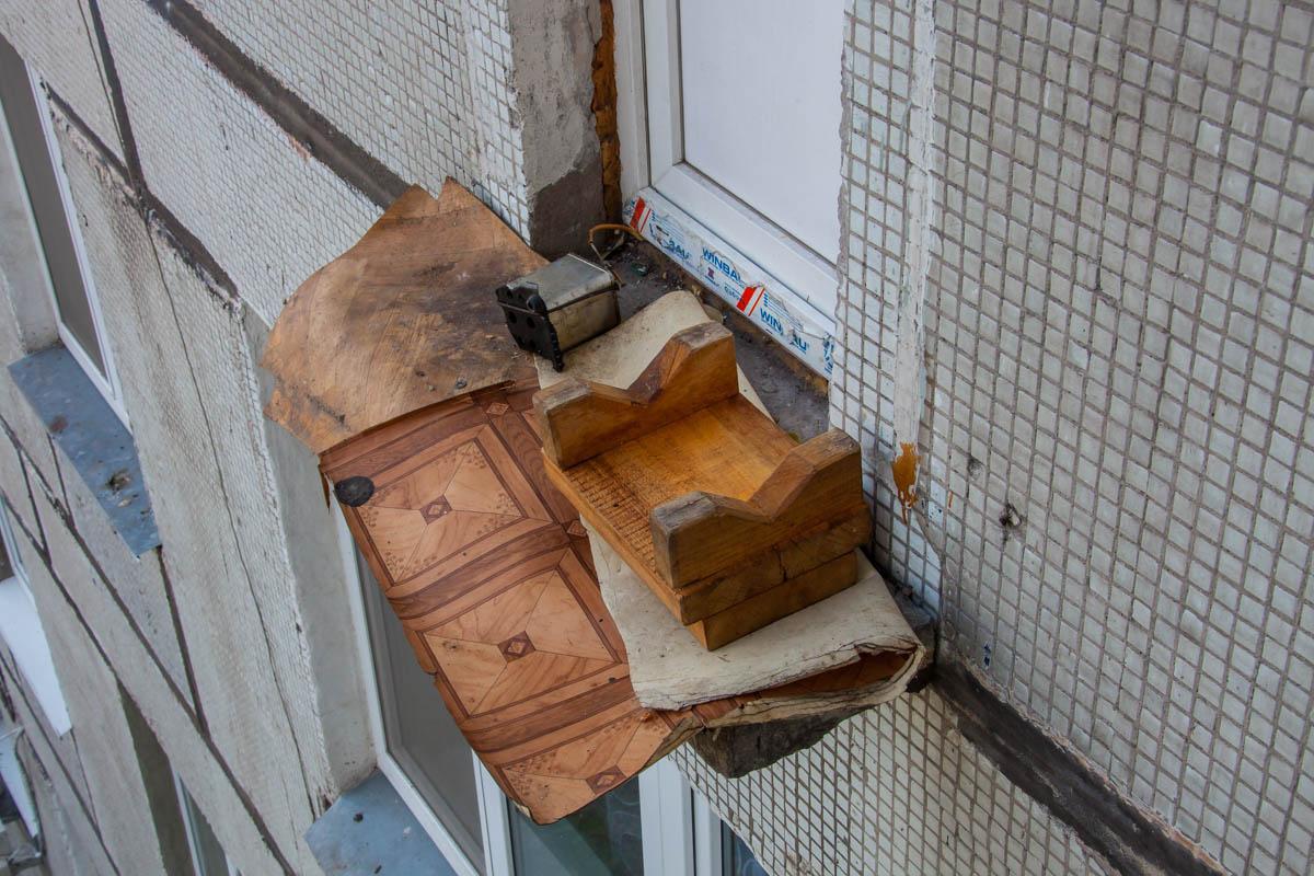 Пострадавший упал с 6-го этажа
