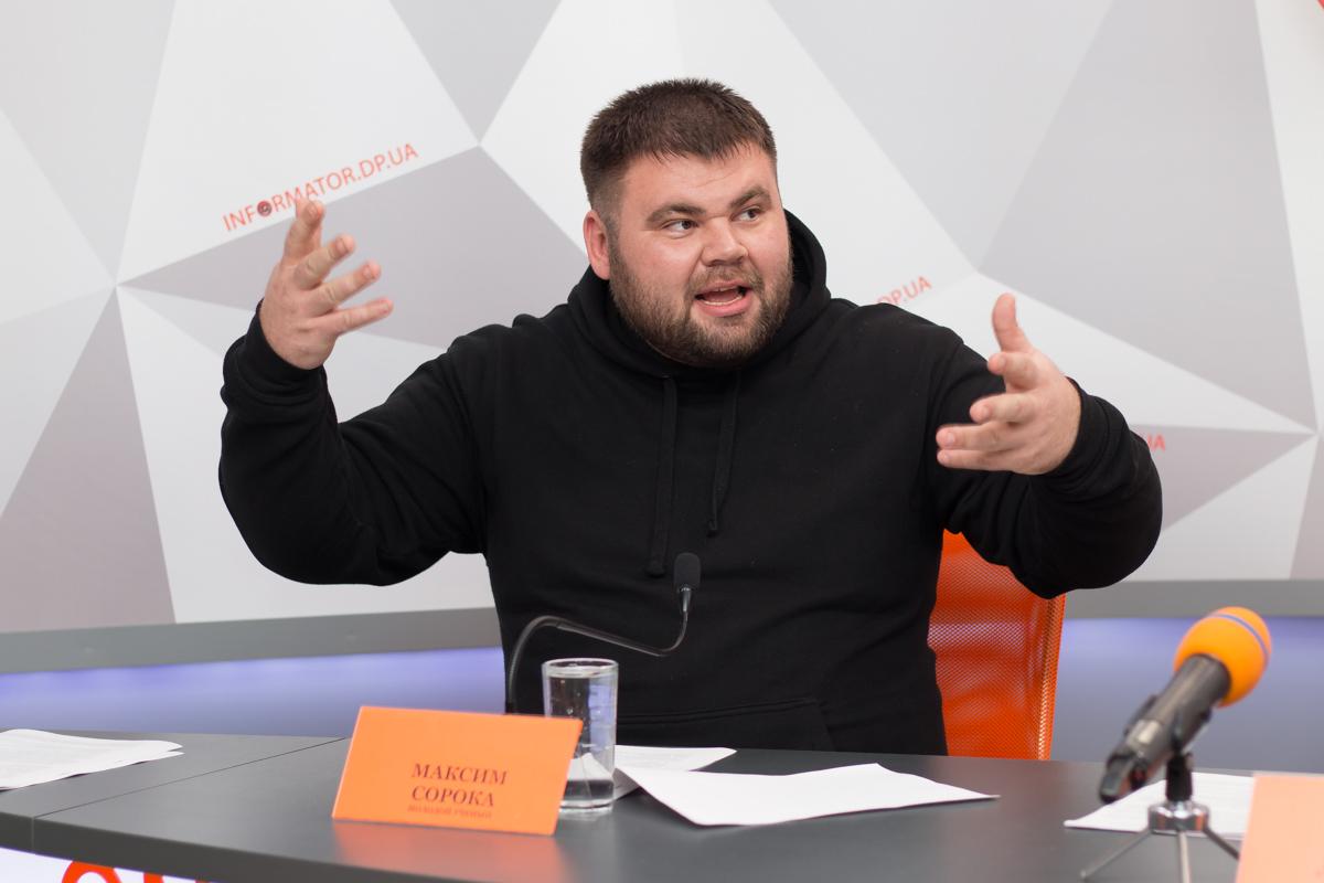 Ученый и общественный активист Максим Сорока