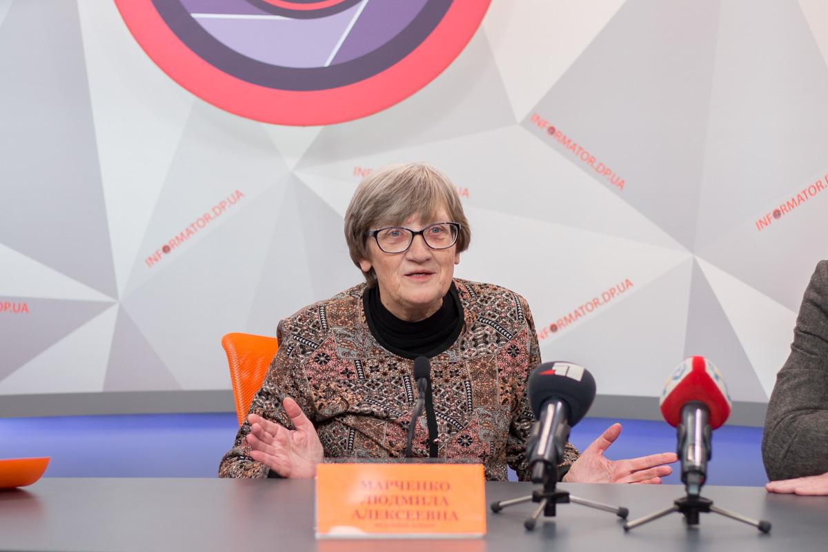 Людмила Марченко, ведущий лектор планетария