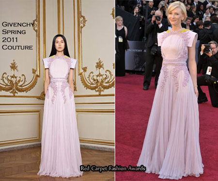 Оскар 2011: лучшие платья на красной дорожке
