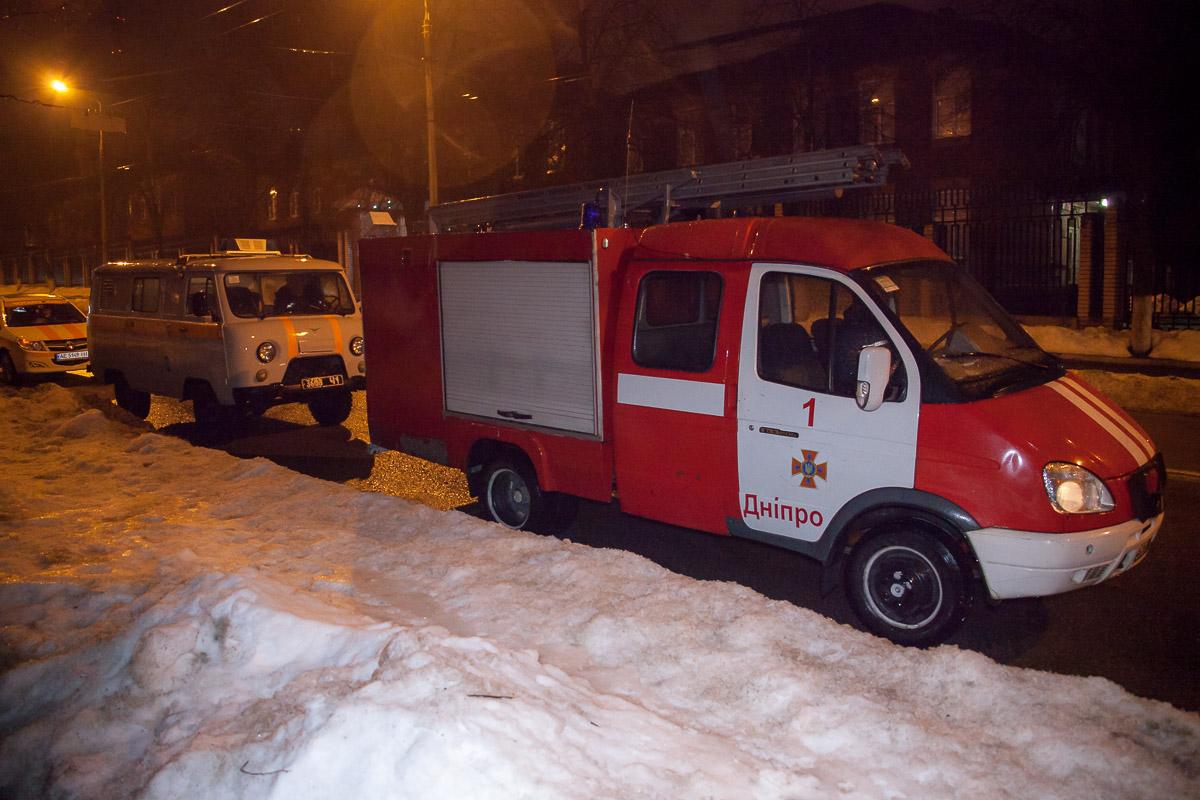 27 марта около 4:20 на линию«101» поступило сообщение о пожаре в студенческом общежитии №3