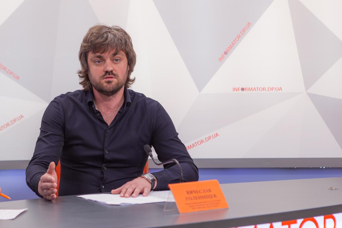 Партнер общественной организации Европейское поколениеВячеслав Голенищев