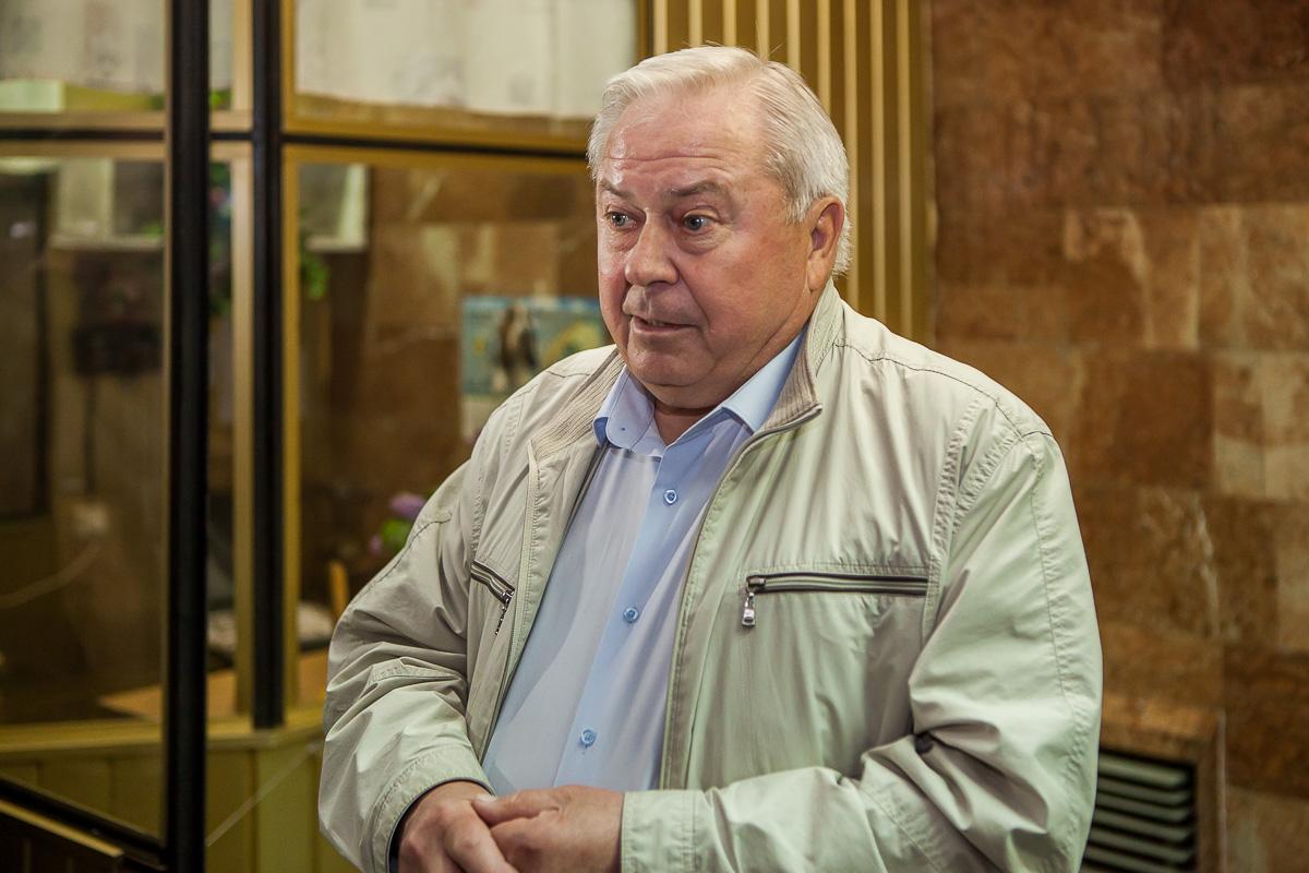 Первый руководитель Днепровского метрополитена Олег Котляров