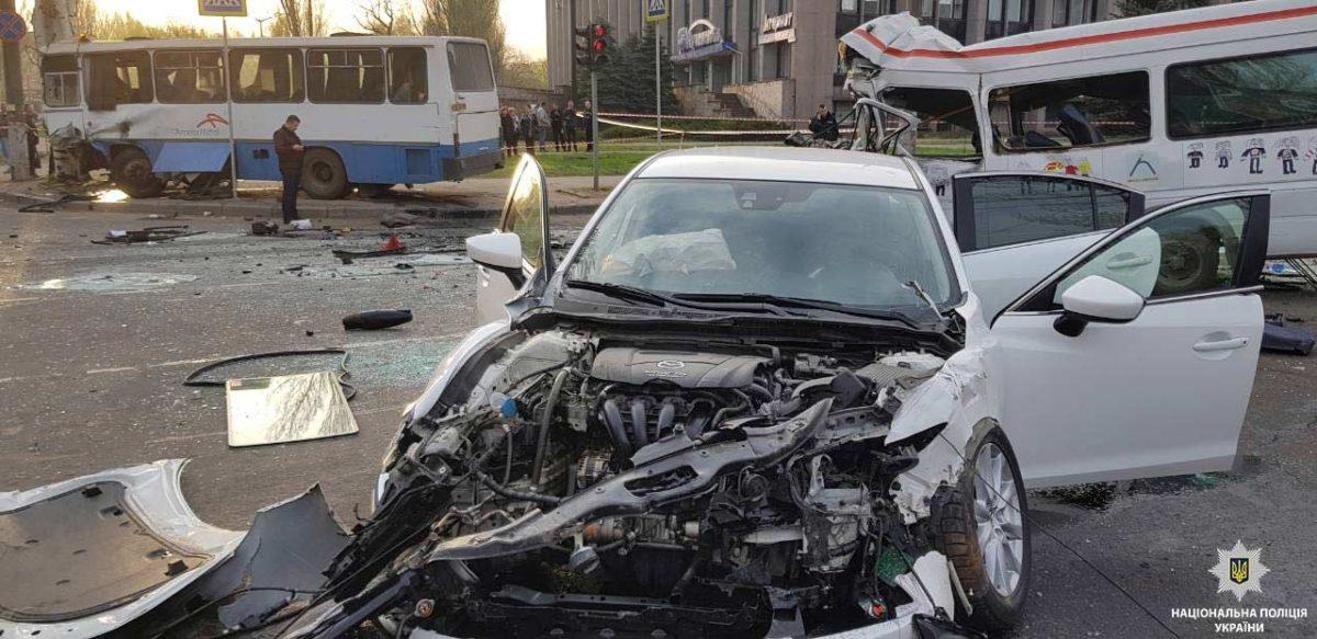 По факту резонансного ДТП в Кривом Роге полиция открыла уголовное производство