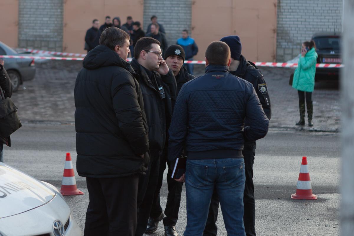 На место инцидента съехалось руководство полиции как Днепра, так и области