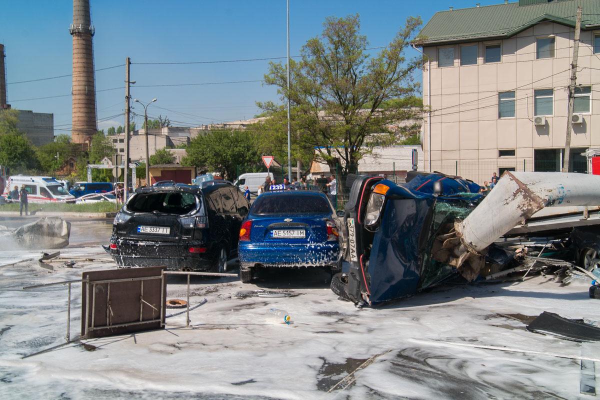 Владельцы автомобилей были поражены произошедшим
