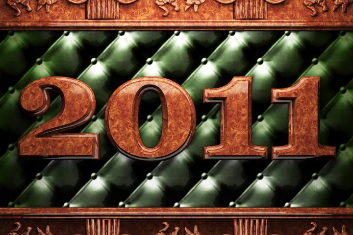 Альбом новогодних обоев 2011. Страница 5