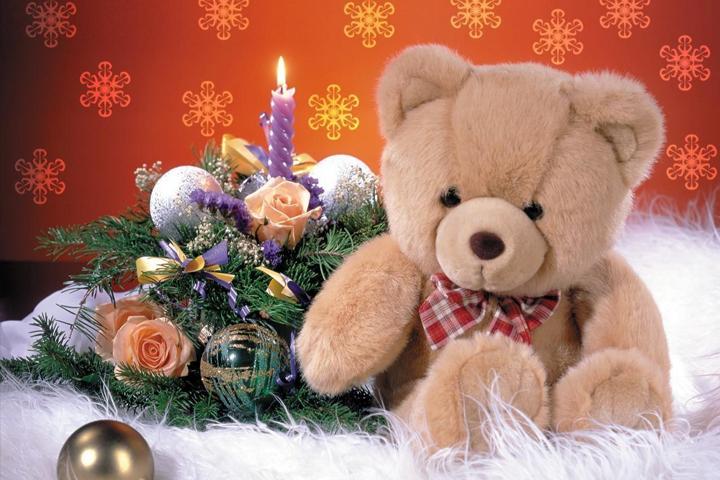 Альбом новогодних обоев 2011. Страница 6