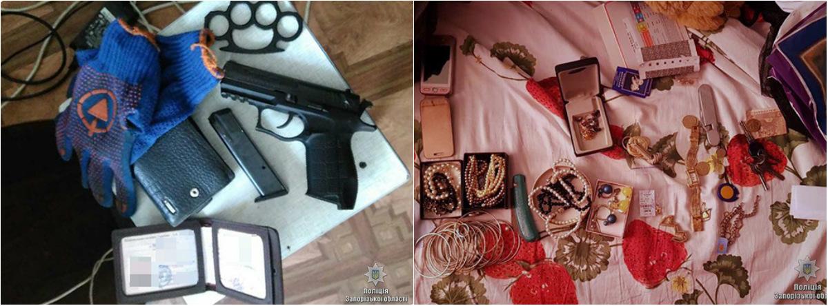 У грабителей нашли украденные вещи