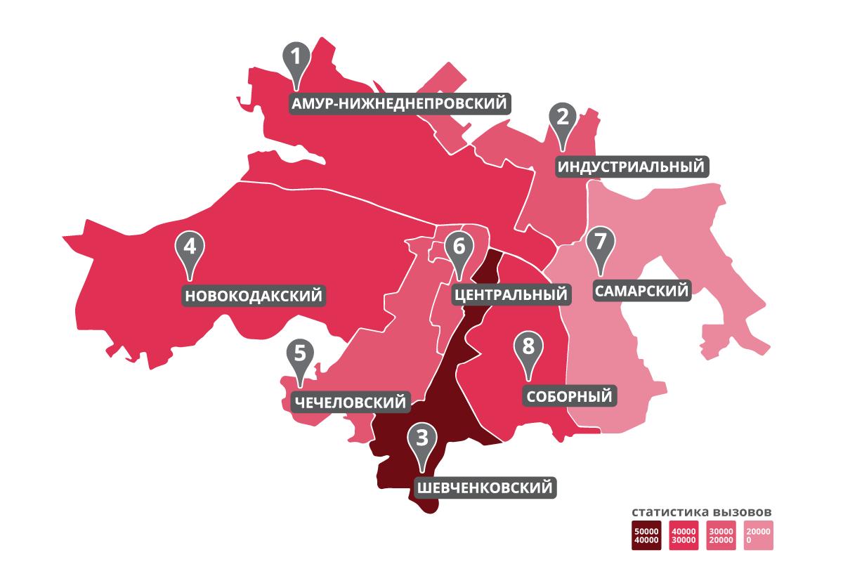 Границы районов © Участники OpenStreetMap